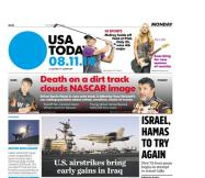 08/11/2014 Issue of USA TODAY