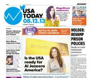 08/12/2013 Issue of USA TODAY