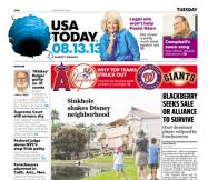 08/13/2013 Issue of USA TODAY