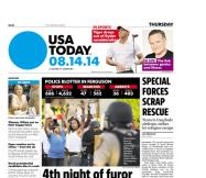 08/14/2014 Issue of USA TODAY