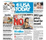 08/15/2012 Issue of USA TODAY