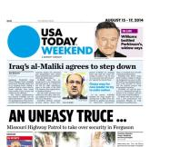 08/15/2014 Issue of USA TODAY