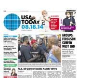 08/18/2014 Issue of USA TODAY