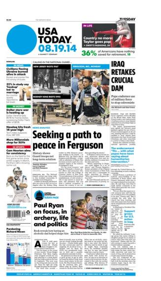 08/19/2014 Issue of USA TODAY