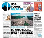08/20/2013 Issue of USA TODAY