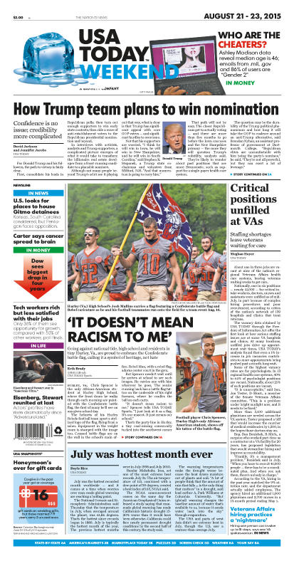 08/21/2015 Issue of USA TODAY