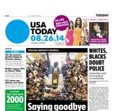 08/26/2014 Issue of USA TODAY