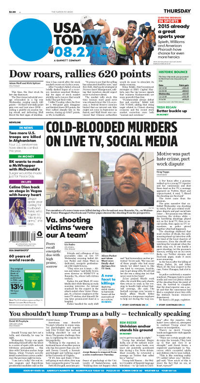 01/27/2015 Issue of USA TODAY