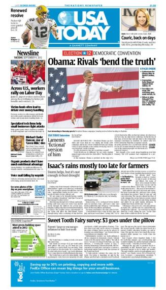 09/04/2012 Issue of USA TODAY