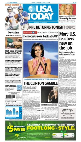 09/05/2012 Issue of USA TODAY