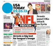 09/05/2013 Issue of USA TODAY
