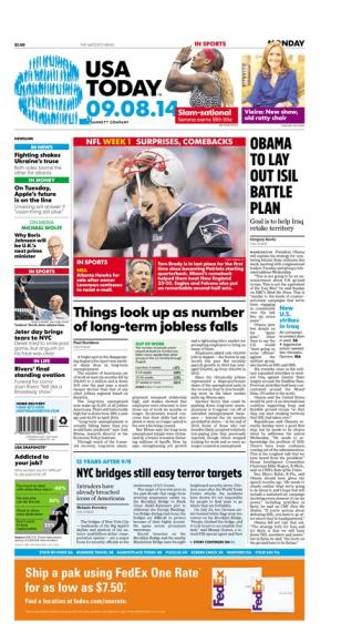 09/08/2014 Issue of USA TODAY