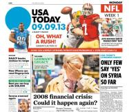 09/09/2013 Issue of USA TODAY