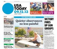 09/12/2013 Issue of USA TODAY