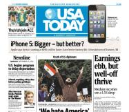 09/13/2012 Issue of USA TODAY