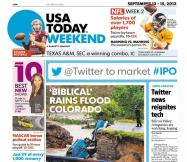 09/13/2013 Issue of USA TODAY
