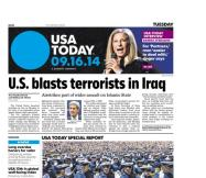 09/16/2014 Issue of USA TODAY