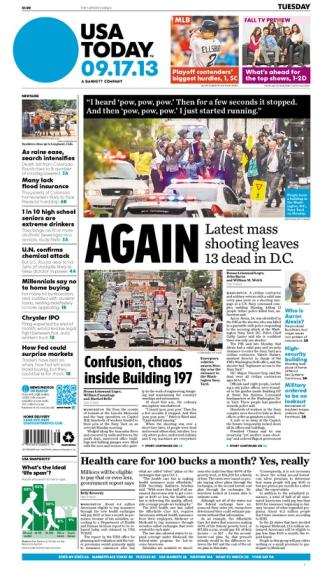 09/17/2013 Issue of USA TODAY