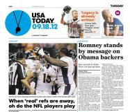 09/18/2012 Issue of USA TODAY