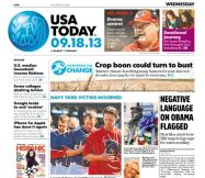 09/18/2013 Issue of USA TODAY