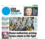 09/18/2014 Issue of USA TODAY