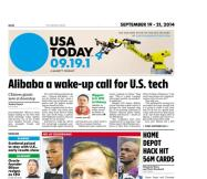 09/19/2014 Issue of USA TODAY