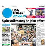 09/22/2014 Issue of USA TODAY