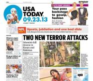 09/23/2013 Issue of USA TODAY