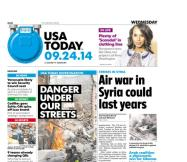 09/24/2014 Issue of USA TODAY