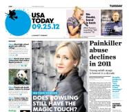 09/25/2012 Issue of USA TODAY