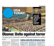 09/25/2014 Issue of USA TODAY