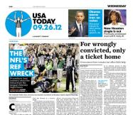 09/26/2012 Issue of USA TODAY