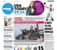 09/26/2013 Issue of USA TODAY