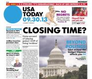 09/30/2013 Issue of USA TODAY
