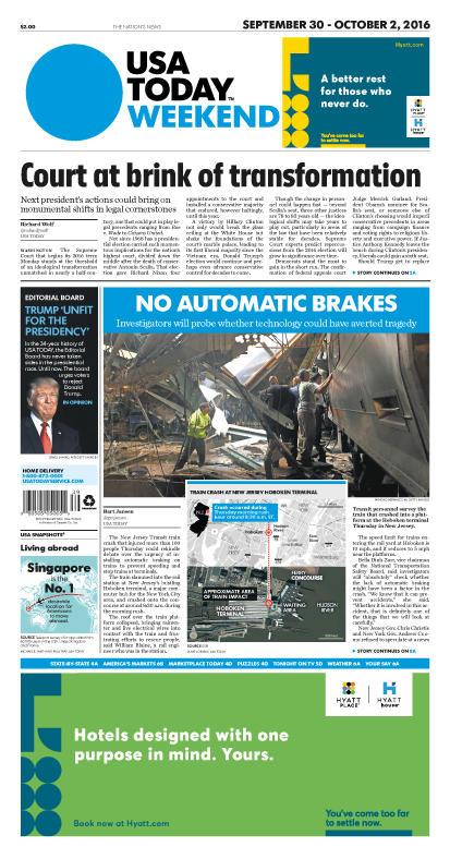 09/30/2016 Issue of USA TODAY