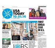 10/01/2014 Issue of USA TODAY
