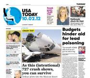 10/02/2012 Issue of USA TODAY