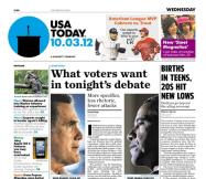 10/03/2012 Issue of USA TODAY