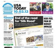 10/03/2013 Issue of USA TODAY