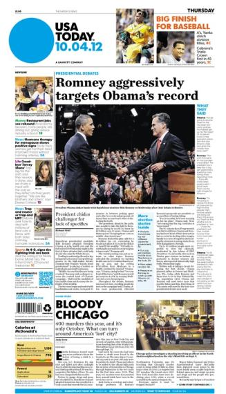 10/04/2012 Issue of USA TODAY