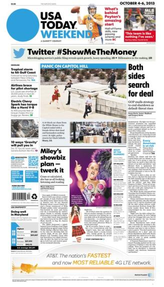 10/04/2013 Issue of USA TODAY