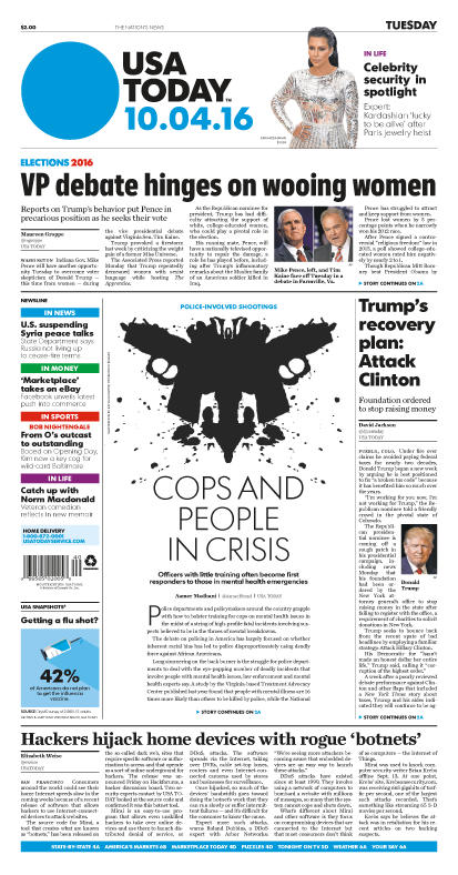 10/04/2016 Issue of USA TODAY