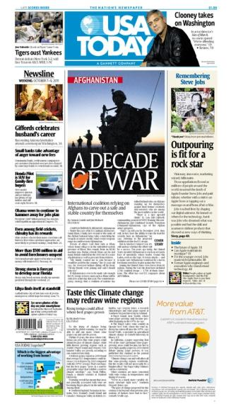 10/07/2011 Issue of USA TODAY