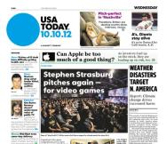 10/10/2012 Issue of USA TODAY