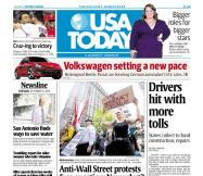 10/11/2011 Issue of USA TODAY