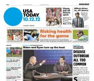 10/12/2012 Issue of USA TODAY