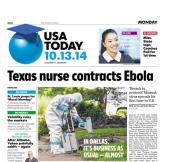 10/13/2014 Issue of USA TODAY
