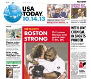 10/14/2013 Issue of USA TODAY