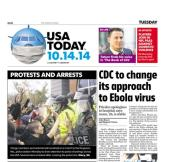 10/14/2014 Issue of USA TODAY