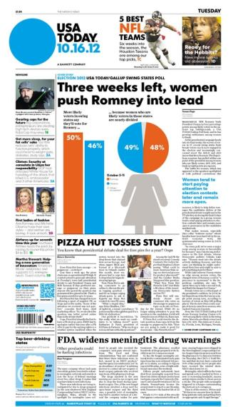 10/16/2012 Issue of USA TODAY